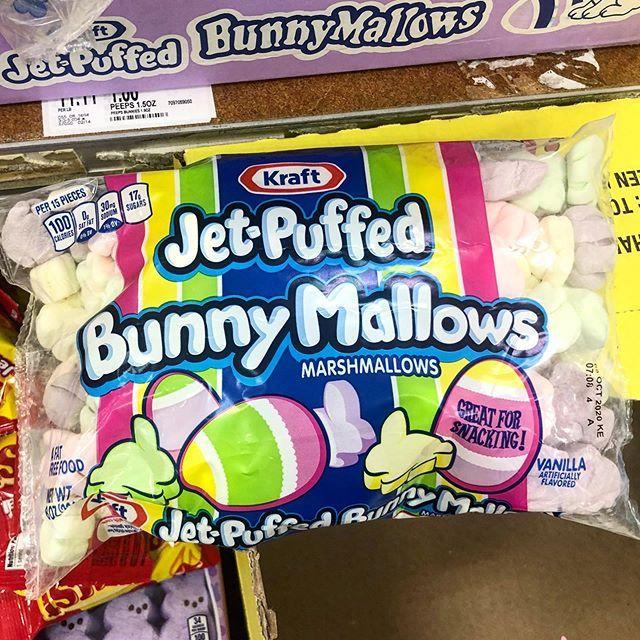 "<p>You've heard of Peeps, but Jet-Puffed BunnyMallows have more pastel colors and the same subtle flavor of a traditional marshmallow. Using these in baked goods (like <a href=""https://www.delish.com/cooking/recipe-ideas/a20641609/smores-stuffed-cookies-recipe/"" target=""_blank"">marshmallow-stuffed cookies</a>, <a href=""https://www.delish.com/cooking/recipe-ideas/a28567178/smores-recipe/"" target=""_blank"">S'mores</a>, or <a href=""https://www.delish.com/cooking/recipe-ideas/a27044914/rice-krispies-treats-recipe/"" target=""_blank"">Rice Krispies treats</a>) is a no brainer.</p><p><a class=""body-btn-link"" href=""https://go.redirectingat.com?id=74968X1596630&url=https%3A%2F%2Fwww.target.com%2Fp%2Fkraft-jet-bunny-marshmallows-8oz%2F-%2FA-47096882&sref=https%3A%2F%2Fwww.delish.com%2Fholiday-recipes%2Feaster%2Fg3288%2Feaster-treats-you-need-for-your-easter-baskets%2F"" target=""_blank"">BUY NOW</a><em><strong>BunnyMallows, $1.29, target.com</strong></em></p><p><a href=""https://www.instagram.com/p/B-rjDwcl0Gt/"">See the original post on Instagram</a></p>"