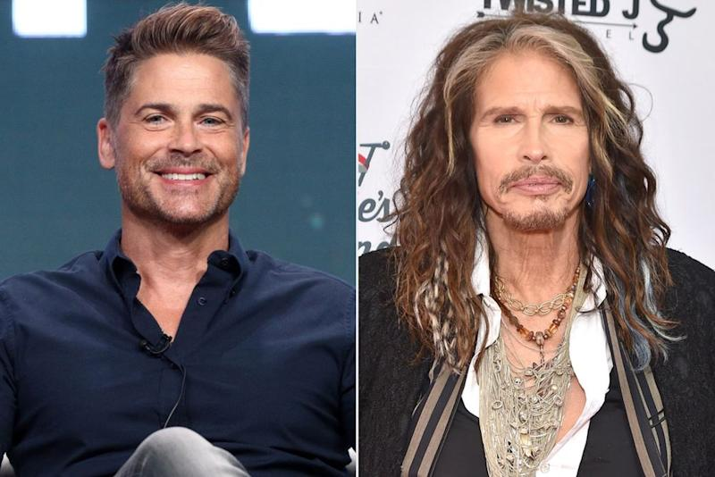 Rob Lowe; Steven Tyler | Frederick M. Brown/Getty Images; Theo Wargo/Getty Images
