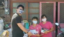 德鴻營造捐物資抗疫 守護竹縣資源回收個體戶