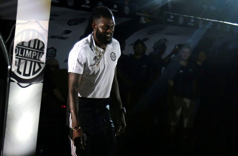 Adebayor leaves Olimpia after four months
