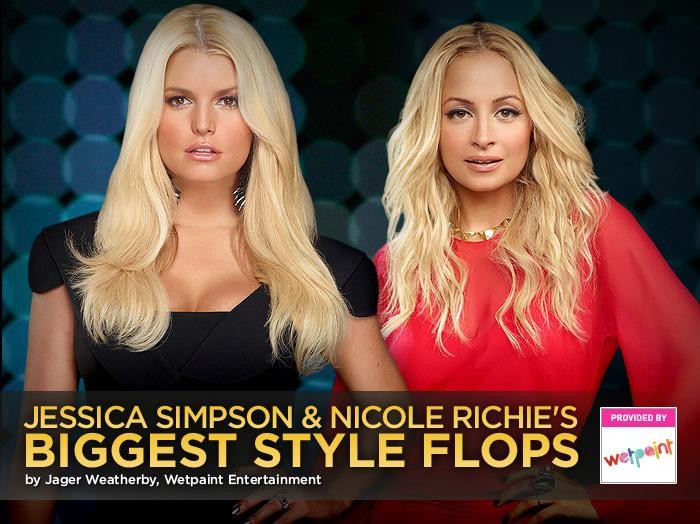 Before They Were Fashionistas: Jessica Simpson & Nicole Richie's Biggest Style Flops