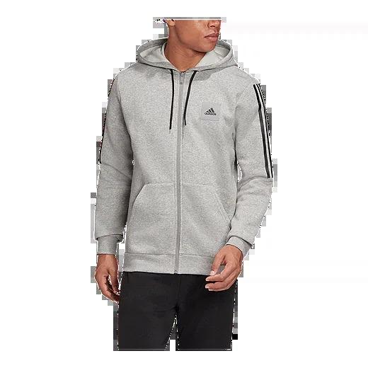 adidas Men's Must-Haves Fleece Full-Zip Hoodie