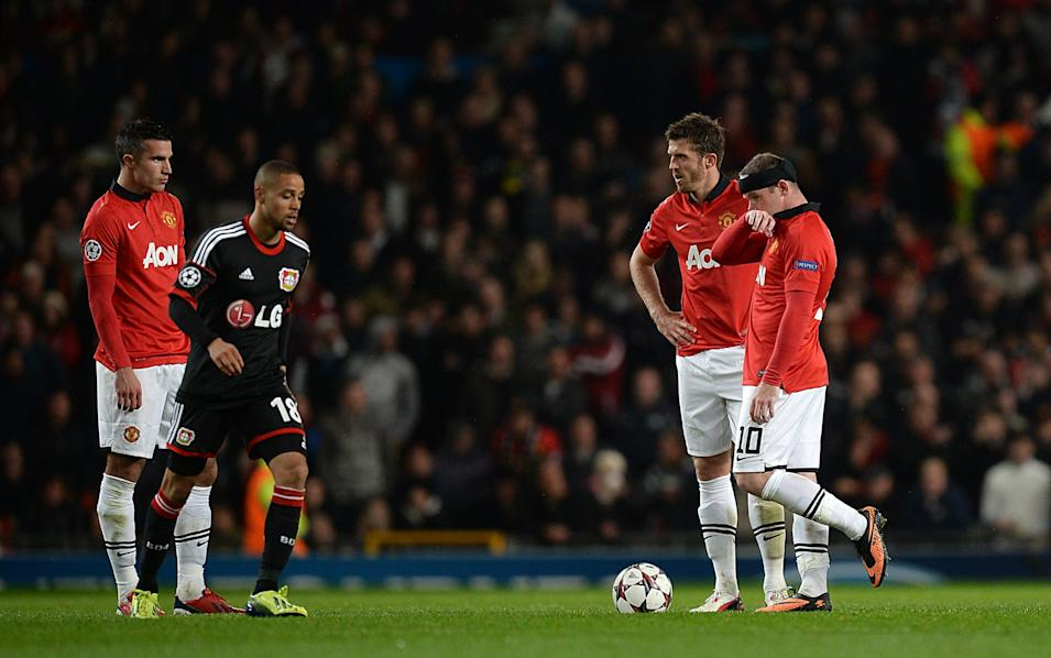 Soccer - UEFA Champions League - Group A - Manchester United v Bayer Leverkusen - Old Trafford