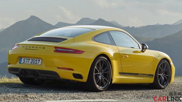 新增入門戰將,Porsche 911 Carrera T 參見!