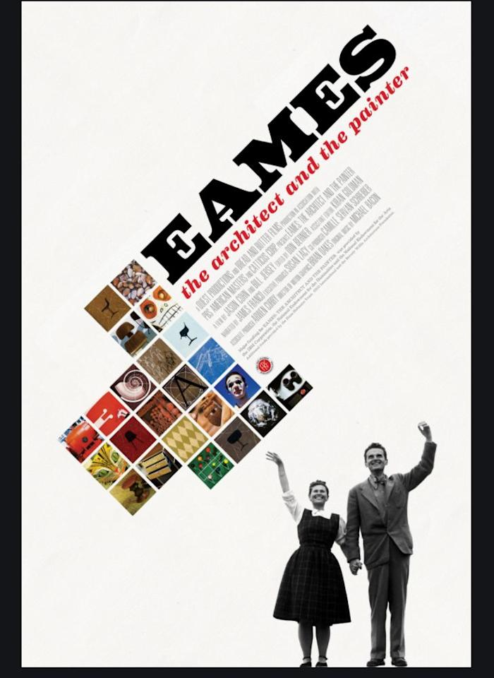 "<p>A 2011 <a href=""https://adfilmfest.com/site/films_dc2018/10552"" target=""_blank"">ADFF </a>festival entry and Peabody Award winner, this film chronicles the  extraordinary collaboration—both personal and professional—of Charles and Ray Eames, the husband-and-wife team behind the <a href=""https://www.elledecor.com/design-decorate/trends/g14381425/eames-chairs/"" target=""_blank"">Eames chair</a>, which was declared by <em>Time</em> to be ""the greatest design of the 20th century."" </p><p><a class=""body-btn-link"" href=""https://www.amazon.com/Eames-Architect-Painter-Jason-Cohn/dp/B017VDBU98/?tag=syn-yahoo-20&ascsubtag=%5Bartid%7C10052.g.32597035%5Bsrc%7Cyahoo-us"" target=""_blank"">WATCH NOW</a></p>"