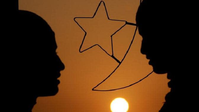 Ilustrasi perempuan muslim berhijab (AFP)