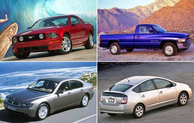10 models that changed the look of cars