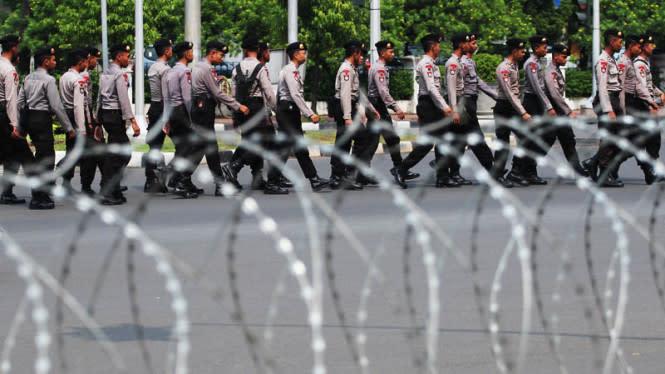 Demo Omnibus Law Jilid 2, Polisi Pastikan Kawasan Istana Steril