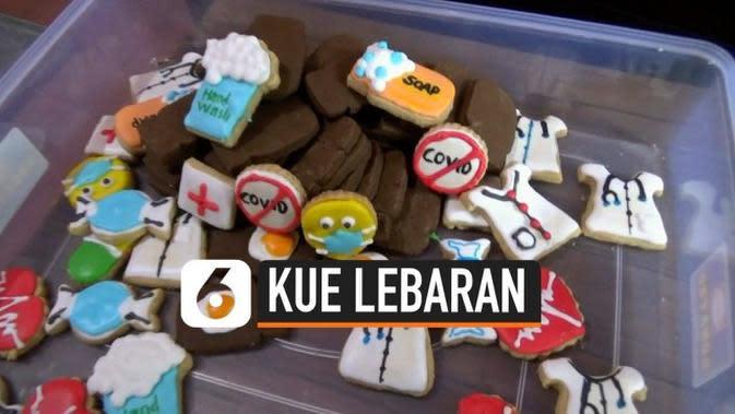 VIDEO: Kreasi Kue Lebaran Bertema Covid-19