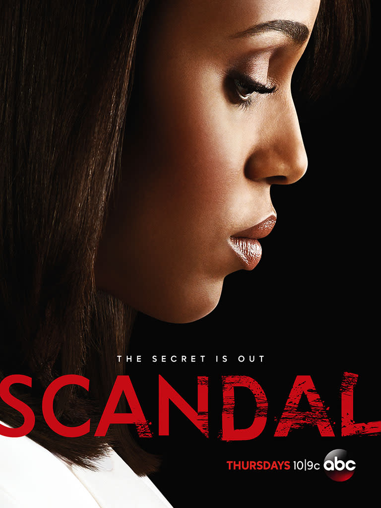 'Scandal' Twitter Fans Unlock Season 3 Poster: 'The Secret Is Out'