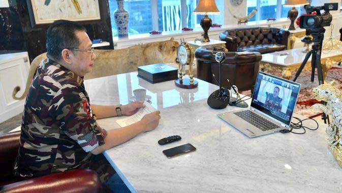 Bamsoet Ajak Terapkan Nilai Pancasila Dalam Kehidupan di Webinar Aktualisasi Pancasila di Era Disrupsi 4.0