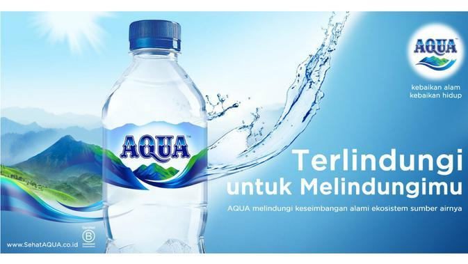 Aqua terlindungi untuk melindungi.