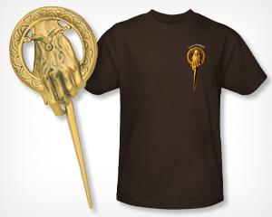 Weekly 'Game of Thrones' Giveaway: Win a Hand of the King Pin and T-Shirt from Yahoo! TV