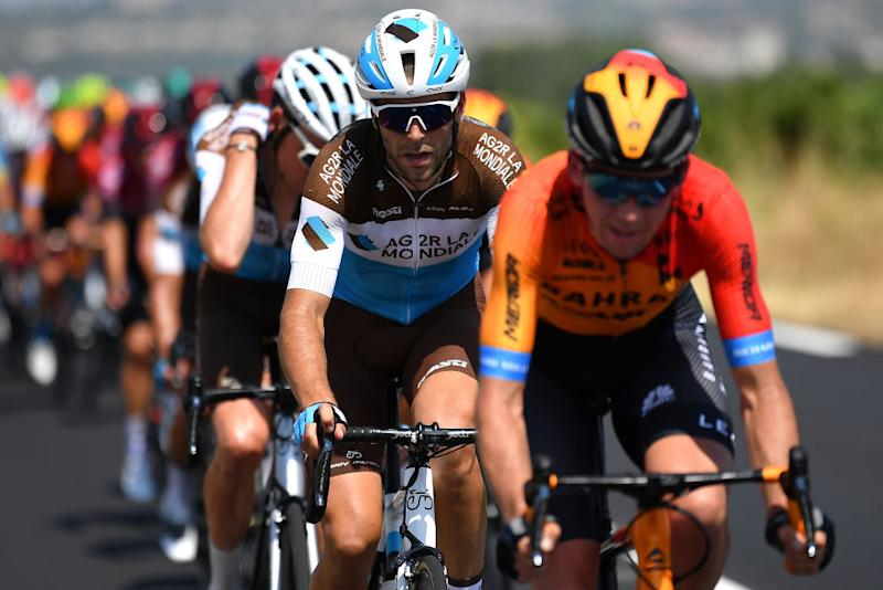 BEZIERS FRANCE AUGUST 01 Tony Gallopin of France and Team Ag2R La Mondiale during the 44th La Route dOccitanie La Depeche du Midi 2020 Stage 1 a 187km stage from Saint Affrique to Cazouls ls Bziers RouteOccitanie RDO2020 on August 01 2020 in Beziers France Photo by Justin SetterfieldGetty Images