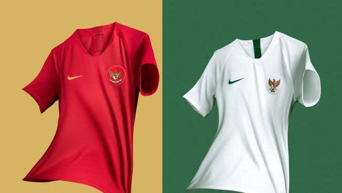 Timnas Indonesia U-23 diyakini batal menggunakan jersey anyar di Asian Games 2018 karena berbenturan dengan aturan sponsorship kontingen Indonesia. (dok. Nike)