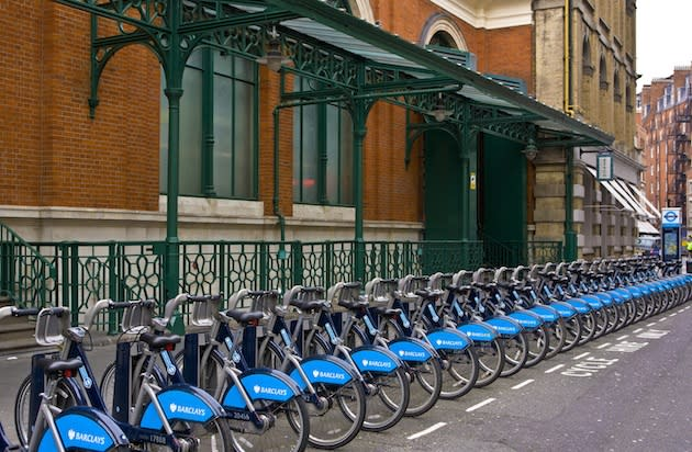 Rent a 'Boris Bike' for an Easy Way to See London