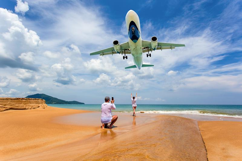 Tourists Snapping Runway Selfies at Phuket Airport Risk Death Penalty