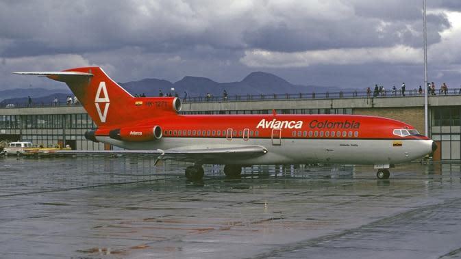 Pesawat Avianca Boeing 727-200 (Wikipedia)