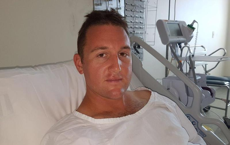 Const Edwards has since been released from hospital. Source: NSW Police