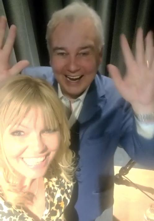 Eamonn Holmes revealed his fear of vomiting to Kate Thornton on White WIne Question Time