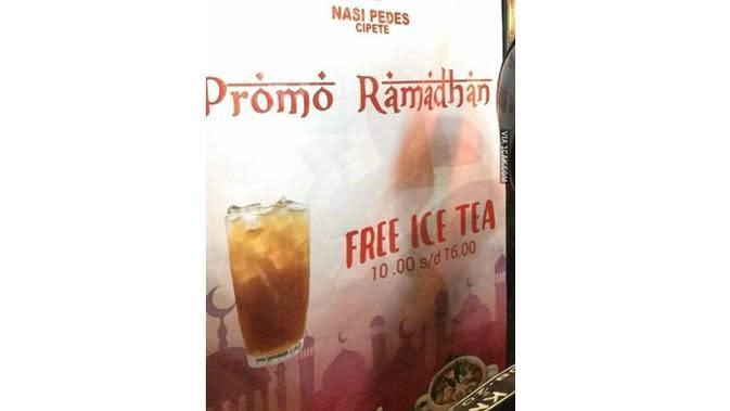 6 Cara Promosi Penjual Es Teh Ini Nyeleneh, Bikin Geleng Kepala (sumber: 1cak.com)
