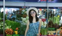 陳妍希「放暑假」 細肩洋裝噴少女味