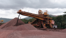 國際鐵礦石現貨價挑戰7年高峰 台灣鋼鐵類股指數創14個月新高