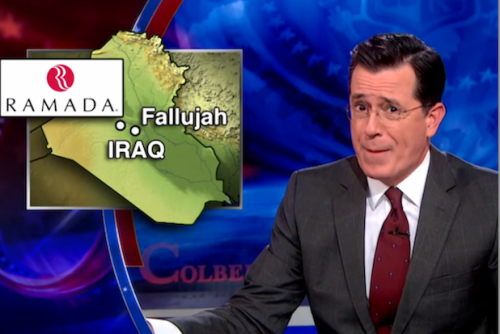 Stephen Colbert Calls Obama a Quitter, Demands Military Surge Everywhere (Video)