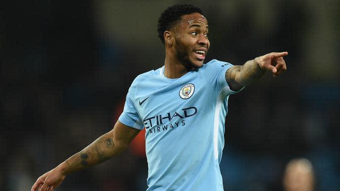 2. Raheem Sterling (Liverpool dan Manchester City) - 75 Gol. (AFP/Oli Scarff)