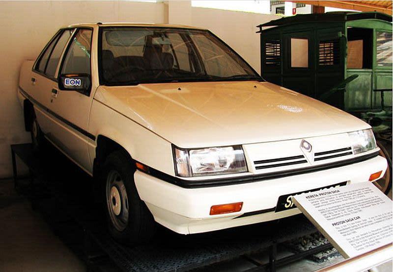 The Proton Saga turns 35 years old. — Picture via Facebook/Azbi Centre