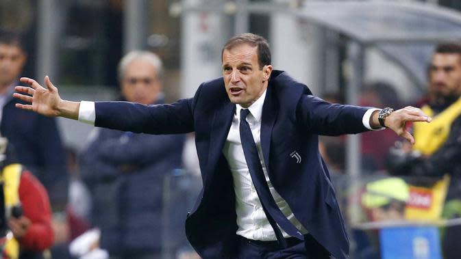 Massimiliano Allegri (AP Photo/Antonio Calanni)