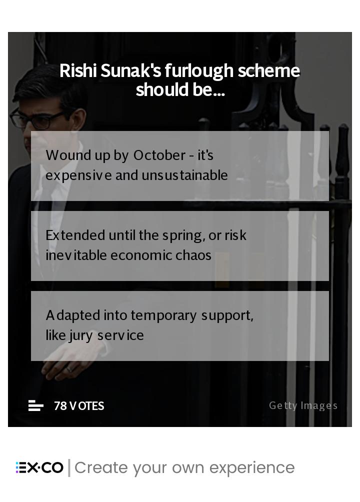 Should the furlough scheme be extended?