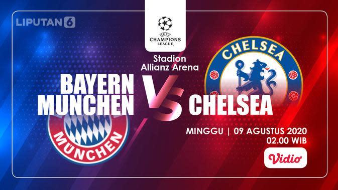 Bayern Munchen vs Chelsea (Liputan6.com/Abdillah)