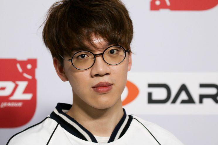 Support and Team Captain of LGD Gaming, Pyl (Dionne Ng)