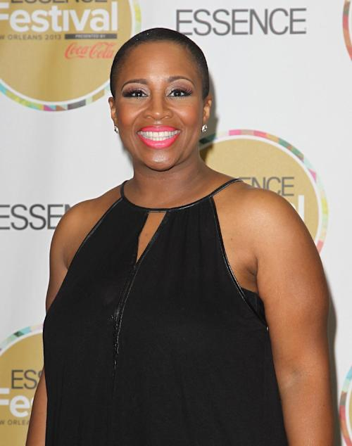 Avery Sunshine visits the pressroom on Day 2 of the 2013 Essence Music Festival at the Mercedes-Benz Superdome on Saturday, July 6, 2013 in New Orleans. (Photo by Donald Traill/Invision/AP)