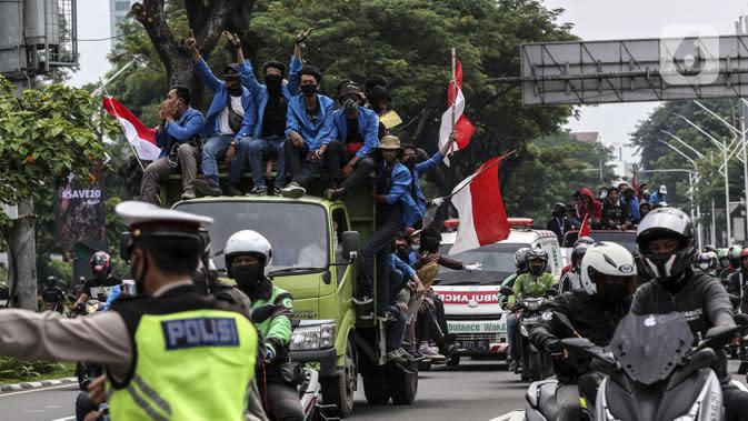 1 Tahun Jokowi-Ma'ruf Amin, Kesejahteraan Buruh Belum Tersentuh