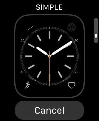 best apple watch faces simple