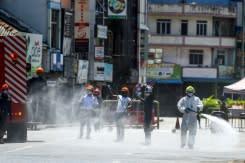 """Penyemprotan disinfektan bisa """"berbahaya"""", kata WHO"""
