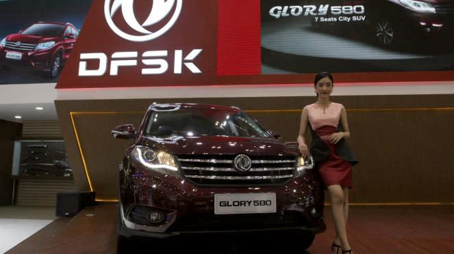 Deretan Mobil Terbaru di GIIAS 2018, DFSK Glory 580