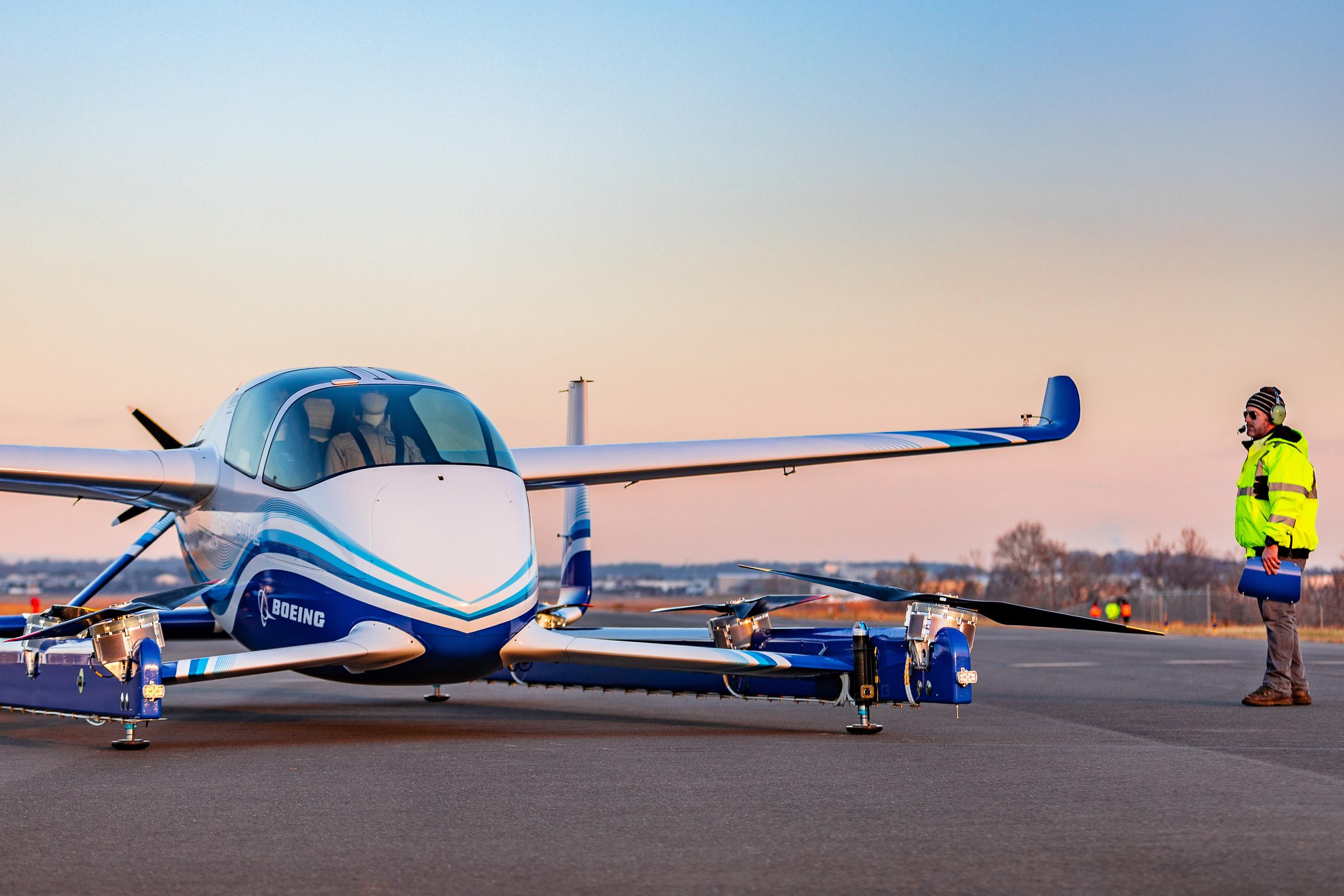 Boeing Said Wednesday Its Prototype Flying Car Part Of A Project Aimed