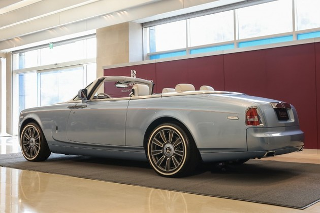 全球唯一Rolls-Royce Phantom Drophead Coupé挾6,688萬身價抵台