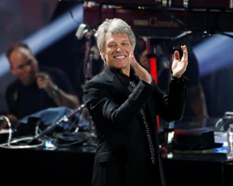 Bon Jovi album '2020' asks 'questions' about pandemic, race, police