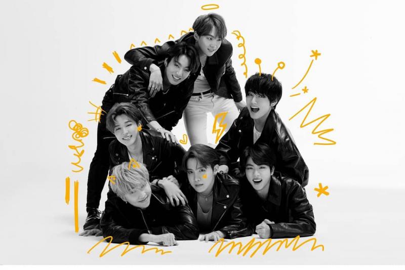 """""""Map of the Soul: 7"""" BTS album terlaris di Korea Selatan"""
