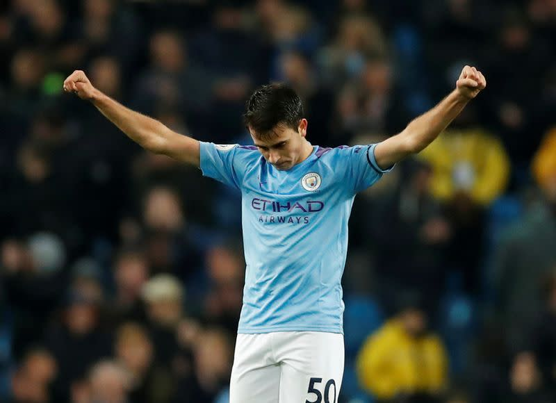 City defender Garcia rejects contract offer amid Barca links