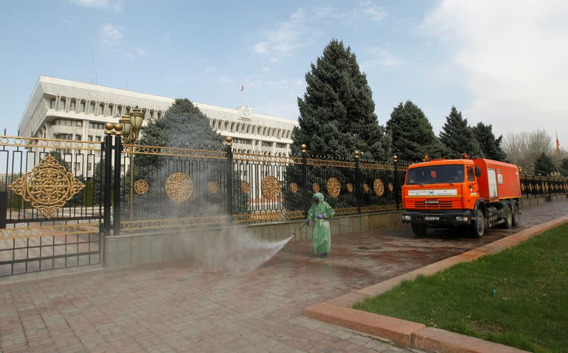 Kyrgyzstan tightens coronavirus restrictions after increase in new cases