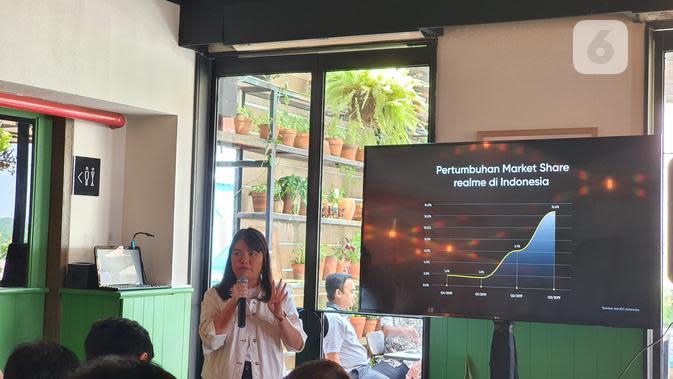 Tendang Xiaomi, Realme Kini di Posisi 4 Smartphone Terlaris di Indonesia