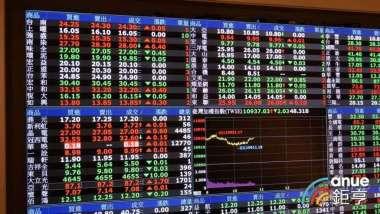 〈台股盤中〉賣壓湧現一度跌逾150點 急跌後迅速收斂穩守萬二