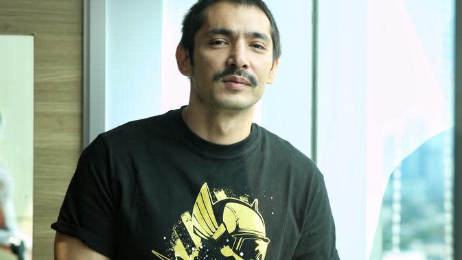 Abimana Aryasatya Visit Film Gundala di Sency. (Adrian Putra/Fimela.com)