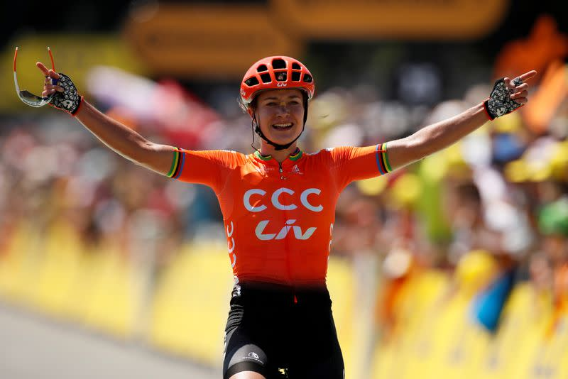 CCC-Liv team pulls out of Spain races, citing COVID-19 concerns