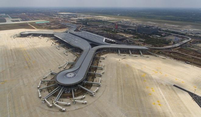 Haikou Meilan International Airport in Haikou, Hainan's capital. Photo: Xinhua